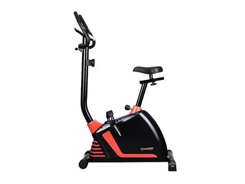Rower magnetyczny HS-60R Shade czarno-czerwony - Hop Sport